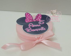 Latinha Pl�stica Colorida 5x1 Minnie