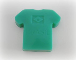 Sabonete Artesanal Camiseta Brasil
