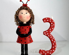 Boneca Personalizada - Joaninha
