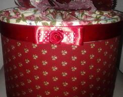 Caixa forrada em tecido