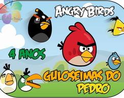 Marmitinha Personalizada - Angry Birds