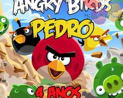R�tulo Para Tubetes - Angry Birds