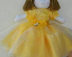 Boneca De Pano De 35cm