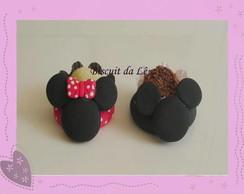 Porta doces Mickey e Minnie