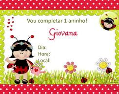 Convite Joaninha 1