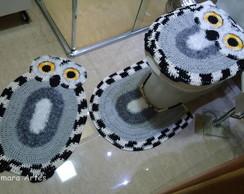 Jogo de banheiro - Coruja Bnh 067
