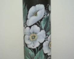 Lumin�ria em PVC com papel de Decoupagem