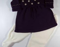 Conjunto Roxo Vestido + Cal�a