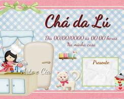 Convite Ch� De Panela - 02