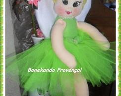 Boneca Tinker Bell de pano