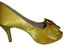 Peep Toe Amarelo