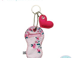 Porta Pen Drive Fabric Sweet Heart  ♥