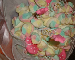 Buqu� de marshmallows rosa