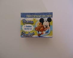 Tags de Agradecimento 5x4 Baby Disney