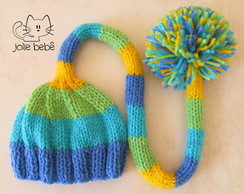Gorro Pompom Color