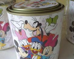 Lata leite  Mickey e Min