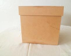 caixa em mdf 9x9x5