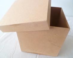 caixa em mdf 10x10x9