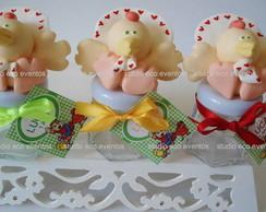 Turma Cocoric� baby (potinhos)