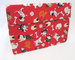 Case Netbook/notebook Cachorrinhos