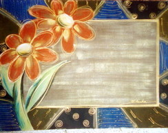 Tapete floral 70X50