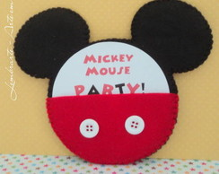 Convite-Lembran�a Mickey e Minnie.