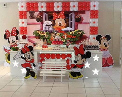 Decorac�o Clean Minnie Vermelha