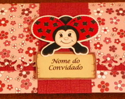 Convite Joaninha Feliz