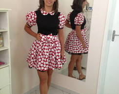 Vestido Minnie ADULTO - Da Lili