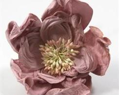 Rose Mauve - Embalagem Com 6 Flores