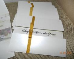 Convite Bodas de Ouro ou Casamento