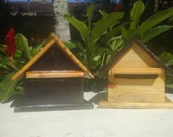 Caixa de Correio em Madeira Recicl�vel