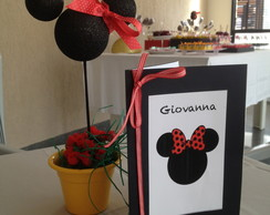 Card�pio ou Arranjo de Mesa Minnie