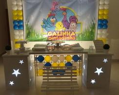 Decora��o Clean - Galinha Pintadinha