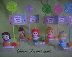 Lembran�a Porta recado baby princesas