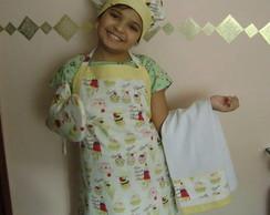 kit de cozinha para crian�a  cupcake