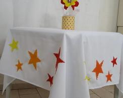 Toalha decorada estrelas