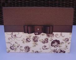 Caderno com capa em tecido