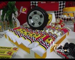 Decora��o Clean Escuderia Ferrari