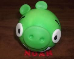 Topo de bolo Angry Birds Pig