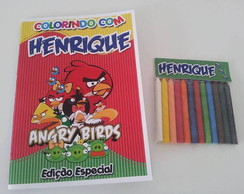 Kit Colorir - Angry Birds