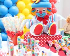 Festa Tema Circo Decora��o Clean