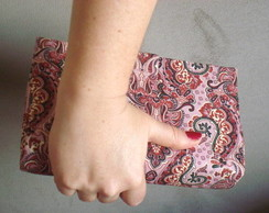 Clutch ECO Arabesco Rosa