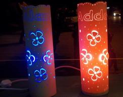 Dupla de Lumin�rias Personalizadas