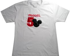 Camiseta Mickey Adulto 1069