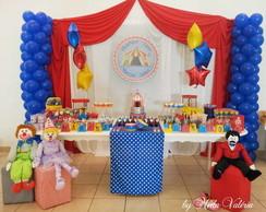 Loca��o Mesa Decorada Circo
