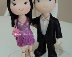 Casal Fofo para casamento