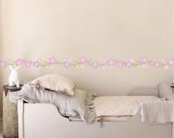 Adesivo Faixa Floral 021