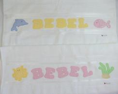 Toalha de Banho Personalizada Infantil