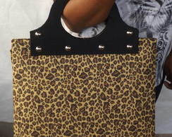 Maxi Bolsa Animal Print  On�a